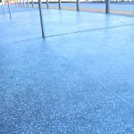 Exterior Polished Concrete flooring by Bay Area Concretes