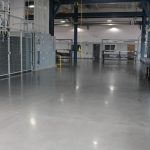 Industrial Polished Concrete Floor by Bay Area Concretes Inc